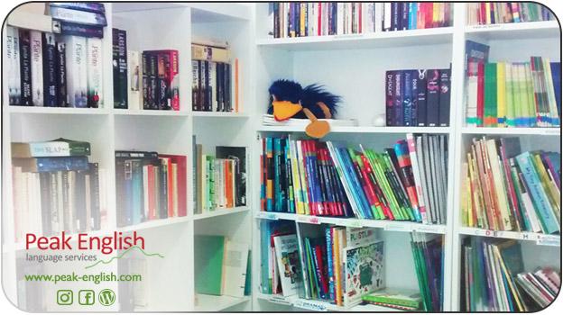 Préstamo de libros en inglés, completa biblioteca en inglés en Zaragoza