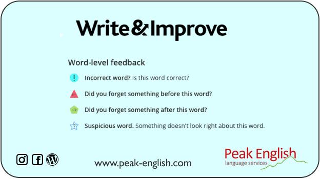 Mejora gratis tu escritura en inglés